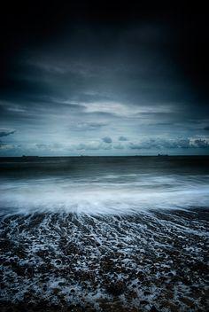 Beach at Kessingland, Suffolk, England, UK  www.tonyeveling.com