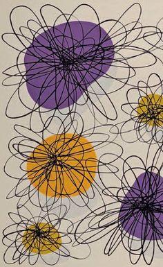 Pattern Design, ca. 1960. #Mid-Modern iL