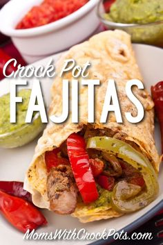 I love fajitas, and this slow cooker recipe makes them very easy to have any night of the week. Prep this meal ahead of time and even place it in freezer bags. That way you can just dump it in your crockpot and go! Slow Cooker Fajitas  Print Prep time 25 mins Cook time...Read More »