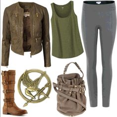 CATCHING FIRE Outfits - See best of PHOTOS of the Hunger Games Movie series
