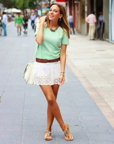 What a cute outfit by Marta!