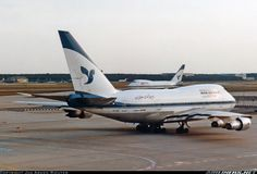 Iran Air Boeing 747SP-86 EP-IAC (cn 21093/307) with Alpha Bravo in the distance