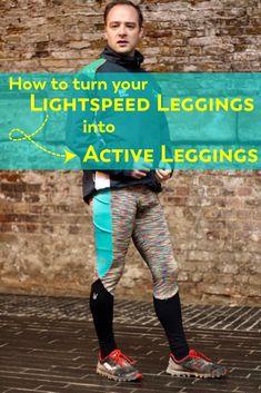 Tutorial: Lightspeed Active Leggings (for Men! Pattern Blocks, Activewear, Tutorials, One Piece, Hacks, Leggings, Patterns, My Style, Men