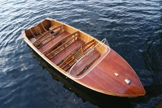 Peterborough runabout; 18 ft, 1956