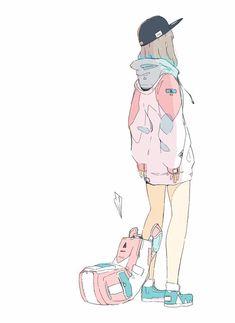 e-shuushuu kawaii and moe anime image board Aesthetic Drawing, Aesthetic Art, Aesthetic Anime, Chibi, Manga Drawing, Manga Art, Psychedelic Art, Character Concept, Character Art