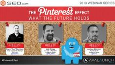 The Pinterest Effect: What The Future Holds - SEO.com Webinar Jan 23, 2013 by SEO.com, via Slideshare