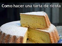 Tarta de ricota - Matias Chavero Argentina Food, Cornbread, Vanilla Cake, Cupcakes, Sweets, Snacks, Cookies, Ethnic Recipes, Desserts