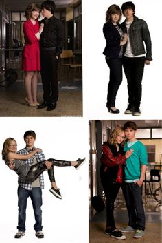 Degrassi. Eli & Clare and Cam & Maya  How I love these couples.