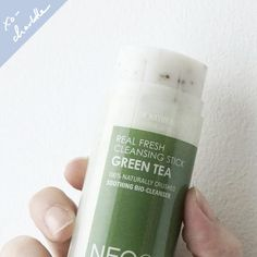 The Neogen Real Fresh Green Tea Cleansing Stick is a travel-friendly cleanser created by Charlotte Cho that offers a 3-in-1, travel-friendly experience. Formulated with 13 natural oils to breakdown ma