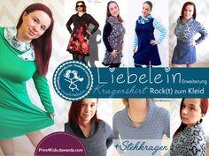 E-Book  - Liebelein Rock(t) zum Kleid -Erweiterung von Print4kids auf DaWanda.com