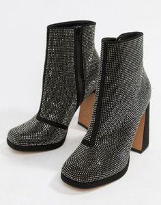 18c75988726 DESIGN Emira embellished platform boots