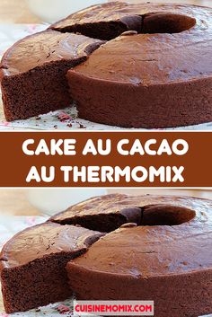 Desserts Rafraîchissants, Thermomix Desserts, Gourmet Recipes, Cake Recipes, Multicooker, Banana Bread, Fondant, Gluten, Cooking
