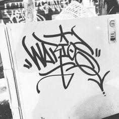 Warios (@warios1) chisel attack.  #warios #handstyle #graffiti //follow @handstyler on Instagram