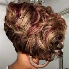 Curly Stacked Bob Haircuts Source Short To Medium Curly Hair Source Curly Bob Hairstyles Source Short Curly Hair Highlights Source Mahogany Curly Bob Hair Source Curly Hair Back View Source Curly Hair Layers… Continue Reading → Bob Haircut Curly, Short Curly Hair, Curly Hair Styles, Natural Hair Styles, Bob Haircuts, Toddler Haircuts, Thick Hair, Big Curly Weave, Curly Bob Sew In