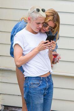 Kristen Stewart y su novia, Stella Maxwell (Grosby Group)