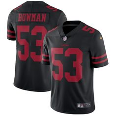 bbb3db16a ... Team Color NaVorro Bowman San Francisco 49ers Nike Vapor Untouchable  Limited Player Jersey - Black (Elite Nike Womens ...