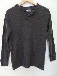 BASIC EDITION Men's T-Shirts Size-S Gray Very Good!  #BasicEditions #BasicTee