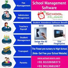 School Fun, High School, School Admissions, Software, Management, Teacher, Student, Website, Professor
