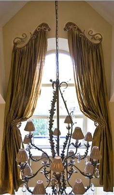 curtains for a arched windows   arched window curtain rod - Arch ...
