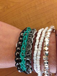 Rainbow loom bracelet!!