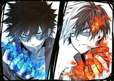 My hero academia ◘ dabi ◘ todoroki shōto otaku, manga anime, anime tegninge Boku No Hero Academia, My Hero Academia Memes, Hero Academia Characters, My Hero Academia Manga, Anime Characters, Tatoo Brothers, Tatoo Bird, Me Me Me Anime, Anime Guys