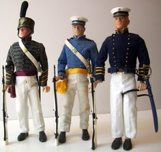 Academy Cadets offered in the vintage GI Joe line 1967.