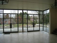 crittall style windows but with bi folds Aluminium Windows, House Extensions, Windows And Doors, Bungalow, My House, Entrance, New Homes, Art Deco, House Design