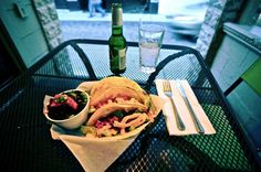 Fish tacos at Catch-27 (photo by Mike Walker)