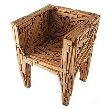 Eco design - Drift wood Chair