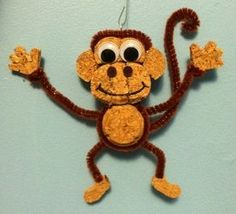 """An animal lover, I thoroughly enjoy creating fun creatures using recycled corks - whether as three-dimensional figurines or as wall hangings. In fact, the first ever """"Cork Creation"""" was a dog. Wine Cork Wreath, Wine Cork Ornaments, Wine Cork Art, Wine Corks, Snowman Ornaments, Wine Bottles, Wine Craft, Wine Cork Crafts, Bottle Crafts"""