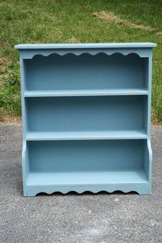 Refurbished furniture Children's bookshelf idea