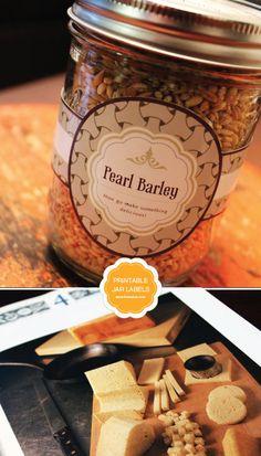 Free Printable Mason Jar Labels   Limeshot Logo Design & Branding Sydney