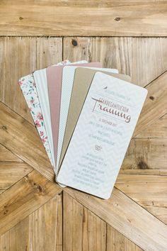 Rustikale Hochzeitspapeterie Mint & Apricot » Blog
