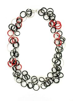 Bakelite Rings Necklace by Emily Watson