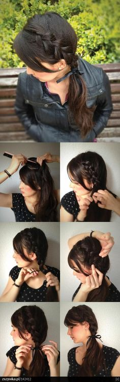 How to braided pony