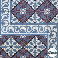 Encaustic Cement Tile - Alcala