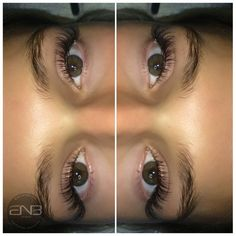 Eyelash extensions @enbstudio