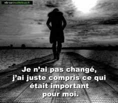 ~ citation de français ~ Plus - brenda. Positive Attitude, Positive Thoughts, Sad Quotes, Life Quotes, Quote Citation, French Quotes, Love Hurts, Some Words, Beautiful Words