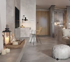 Un mini loft en tons gris Mini Loft, Appartement Design Studio, Studio Apartment Design, Futuristisches Design, Deco Design, Home Decoracion, Style Deco, Interiores Design, Contemporary Furniture