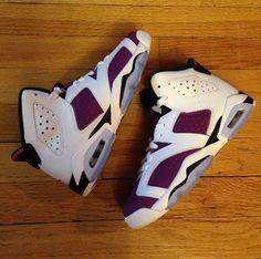 "Air Jordan VI Retro GS ""Bright Grape"""