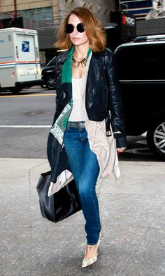 Nicole Richie Out In New York, 2013
