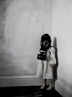 Check out Bastien Groove on ReverbNation Gas Mask Art, Masks Art, Gas Masks, Creepy Pictures, Horror Pictures, Gas Mask Tattoo, Plague Mask, Creepy Kids, Children Sketch