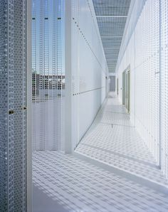 JIN CO LTD Office Building by Aoki Jun | http://www.yellowtrace.com.au/perfectly-perforated/