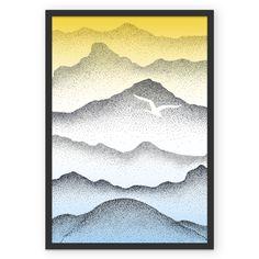 Poster montanhas de @rawa | Colab55
