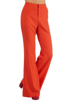 Assign of the Times Pants in Tangerine