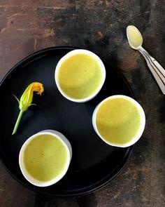 courgette - kokosmelk soep