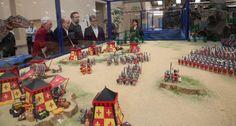 Un mundo Playmobil de 130 metros cuadrados, en el Palacio de Congresos