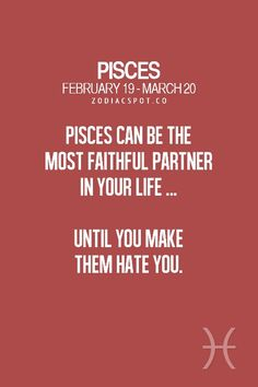 Zodiac Mind - Your source for Zodiac Facts Pisces Lover, Pisces And Sagittarius, Pisces Girl, Astrology Pisces, Pisces Quotes, Pisces Woman, Pisces Facts, Zodiac Facts, Astrology Meaning