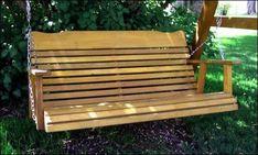 wooden porch swings 11
