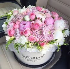 A flower arrangement to please the eye on any occasion - lovely!